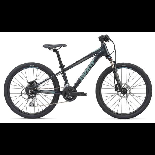 GIANT XtC SL Jr 24 OSFM Black- Vélo montagne cross-country enfant de 7 à 12 ans