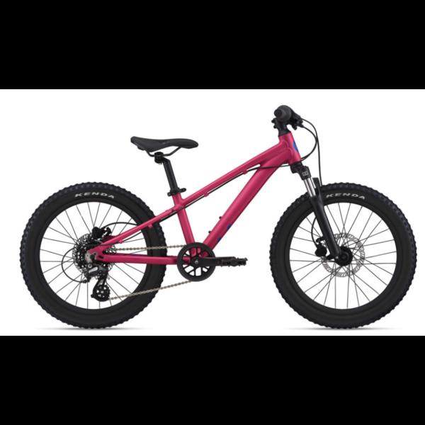 LIV STP 20 FS  Liv rose virtuel- vélo de montagne enfant 5 à 8 ans