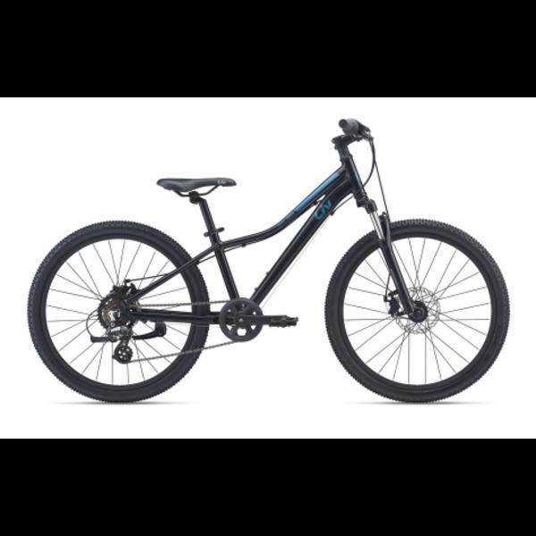 LIV Enchant 24 Disc black - Vélo montagne pour Enfant 7 à 12 ans
