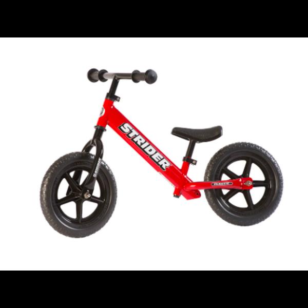 STRIDER Classic 12 - Vélo d'équilibre Rouge