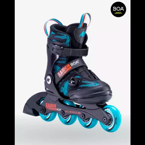 K2 Raider Boa - Patins à roues alignées ajustable Garçons
