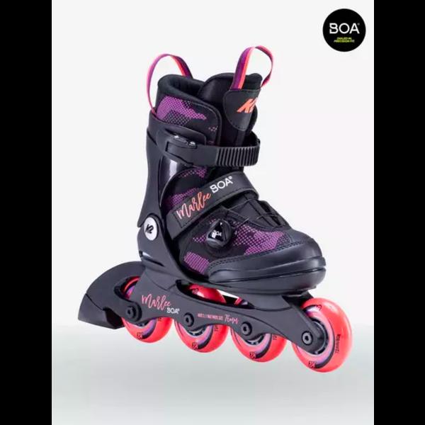 K2 Marlee Boa - Patins à roues alignées ajustable Filles