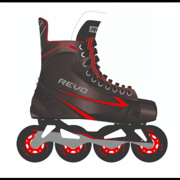 Revo RH50 - Patin à roues alignées style hockey