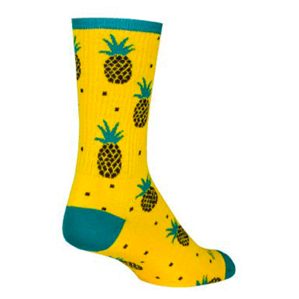 SOCKGUY Pineapple 6'' - Chaussettes