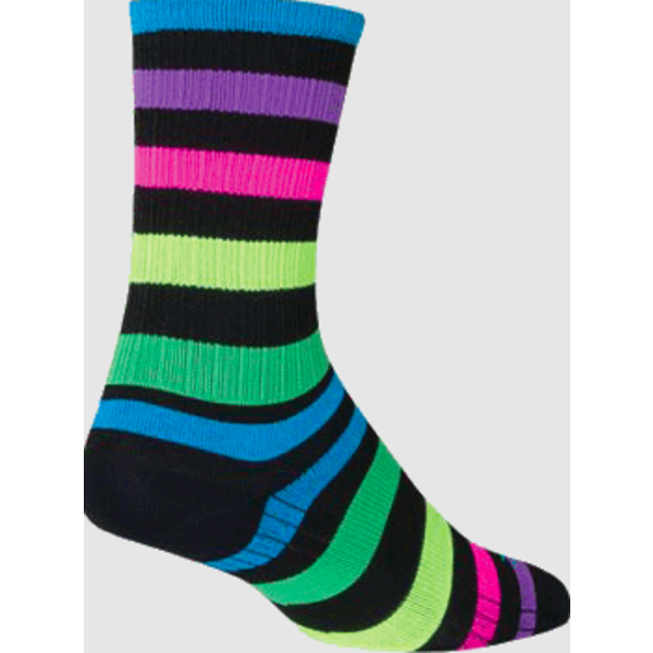 SOCKGUY Nightbright 6'' - Chaussettes
