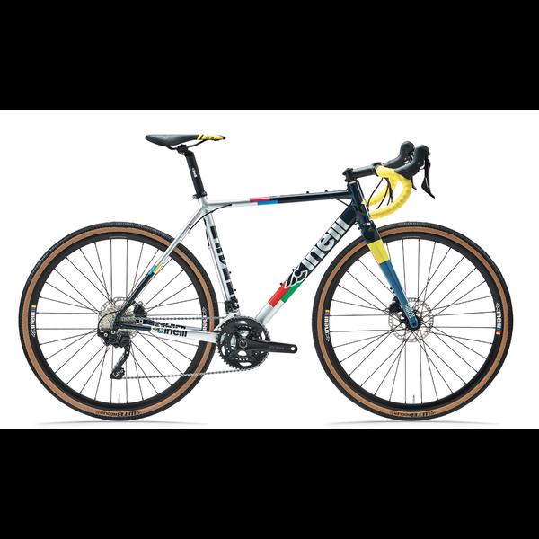 "CINELLI Zydeco ""Chasing a rainbow"" - Cadre de vélo gravel"