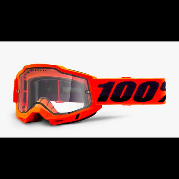 100 Percent Accuri 2 Enduro MTB Google Neon orange - Lunette de vélo de montagne