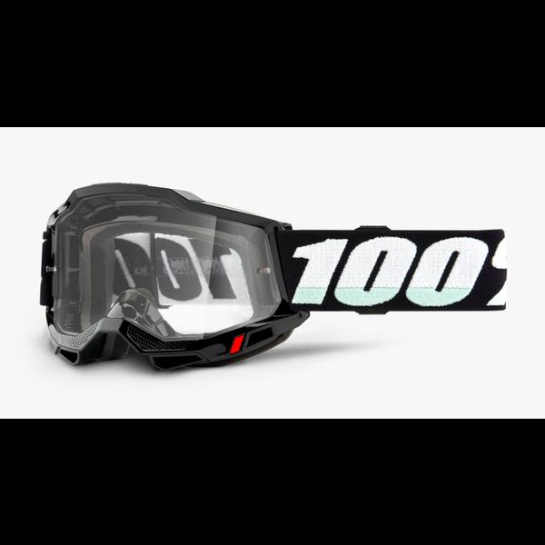 100% Accuri 2 OTG Google noir Clear lens - Lunette de vélo de montagne
