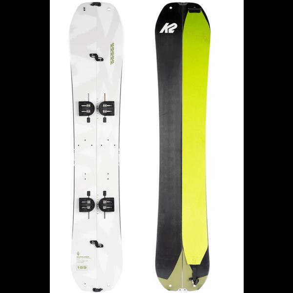K2 Snowboarding Marauder - Ensemble splitboard et peaux