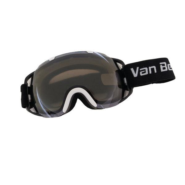 Lunette de ski adulte blanche