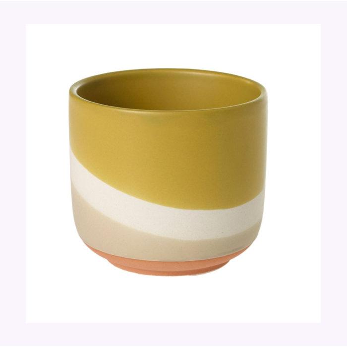 Cache-pot Accent Decor Colorway jaune 4 x 3,5