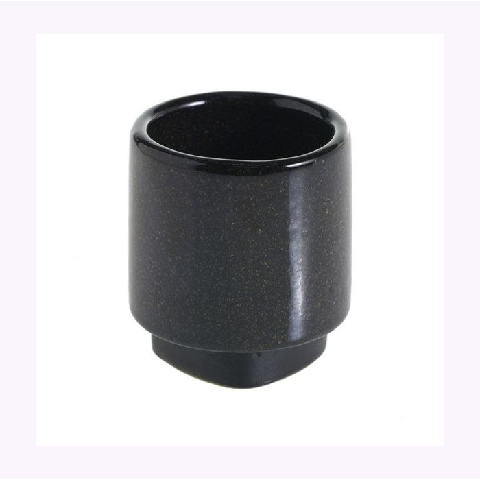 Cache-pot Accent Decor Croix noir 2,75 x 3