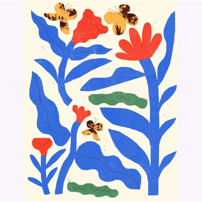 Imprimé Amélie Lehoux Papillons