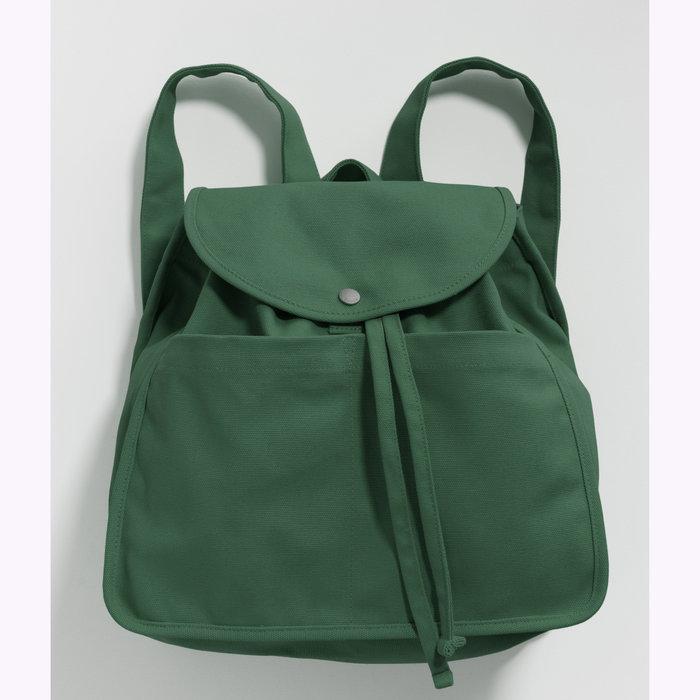 Baggu sac à dos Baggu Eucalyptus Drawstring Backpack
