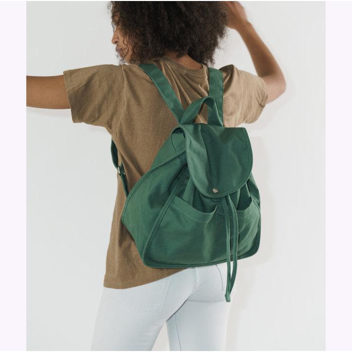 Baggu Eucalyptus Drawstring Backpack