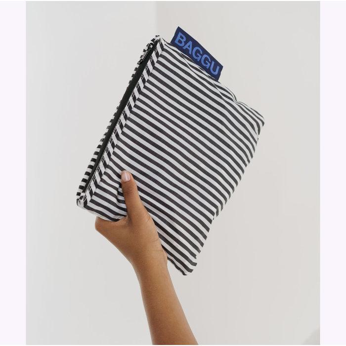 Baggu Striped Packable Backpack