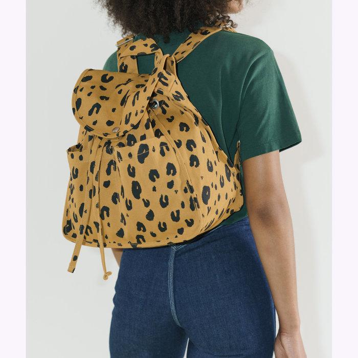 Baggu sac à dos Baggu Leopard Drawstring Backpack