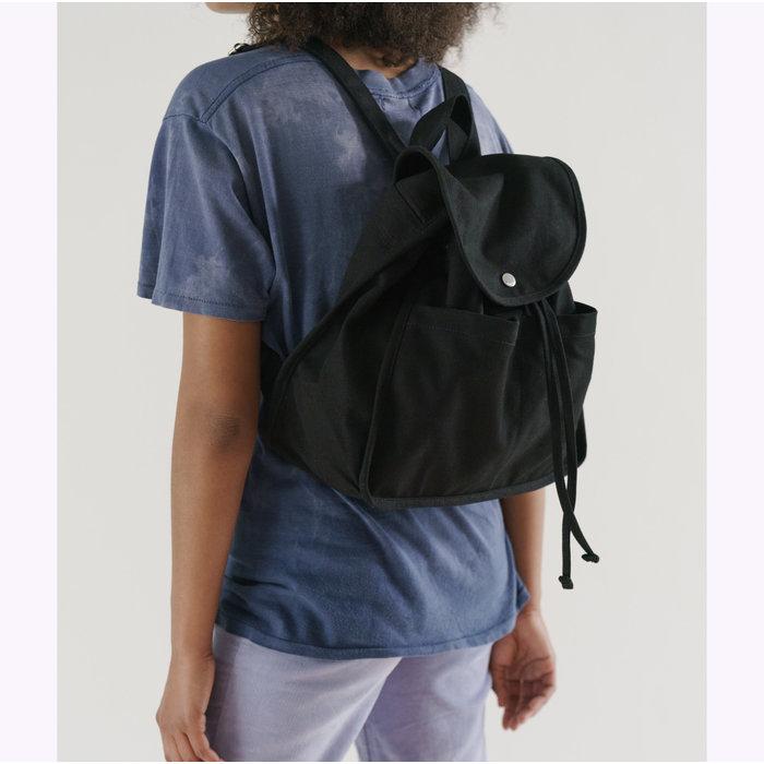 Baggu Black Drawstring Backpack