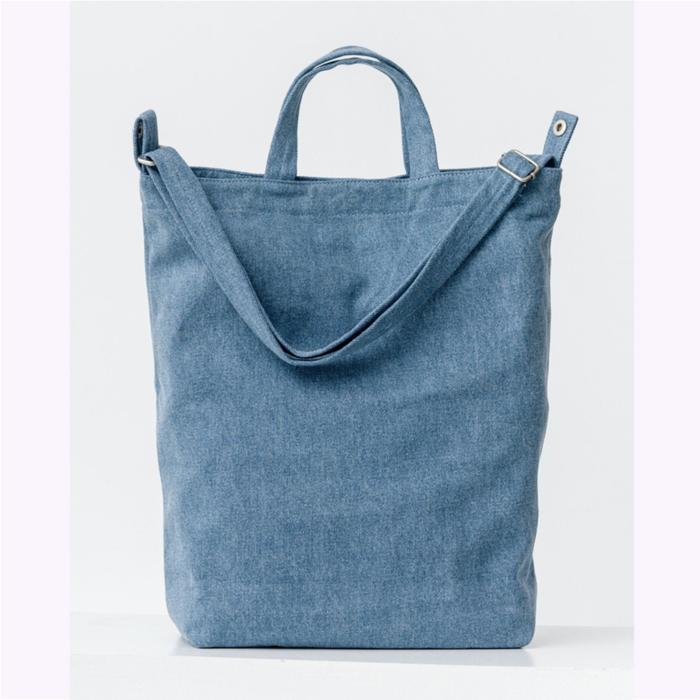 Baggu sac à main Baggu Light Denim Duck Bag