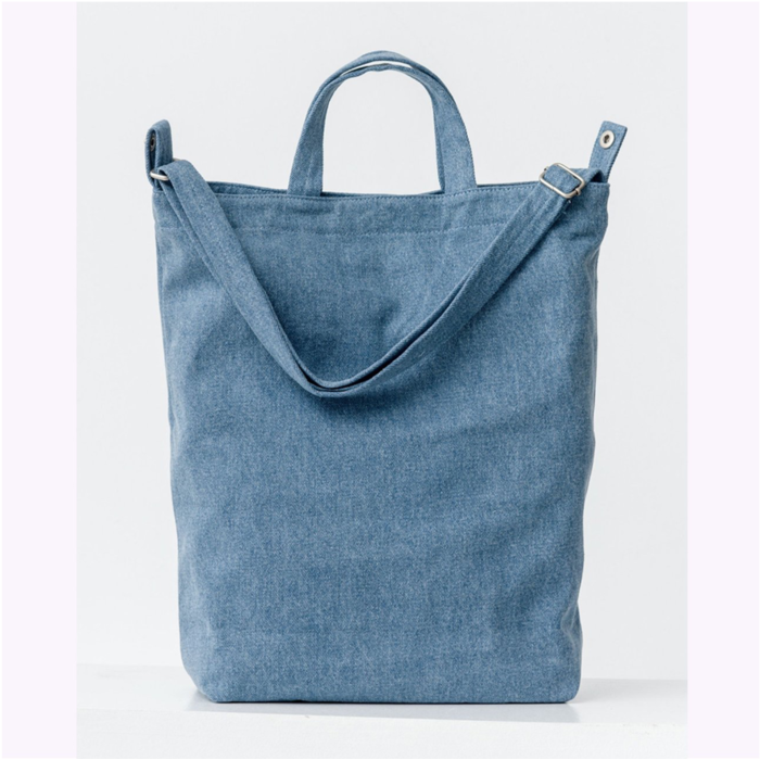 Baggu Light Denim Duck Bag