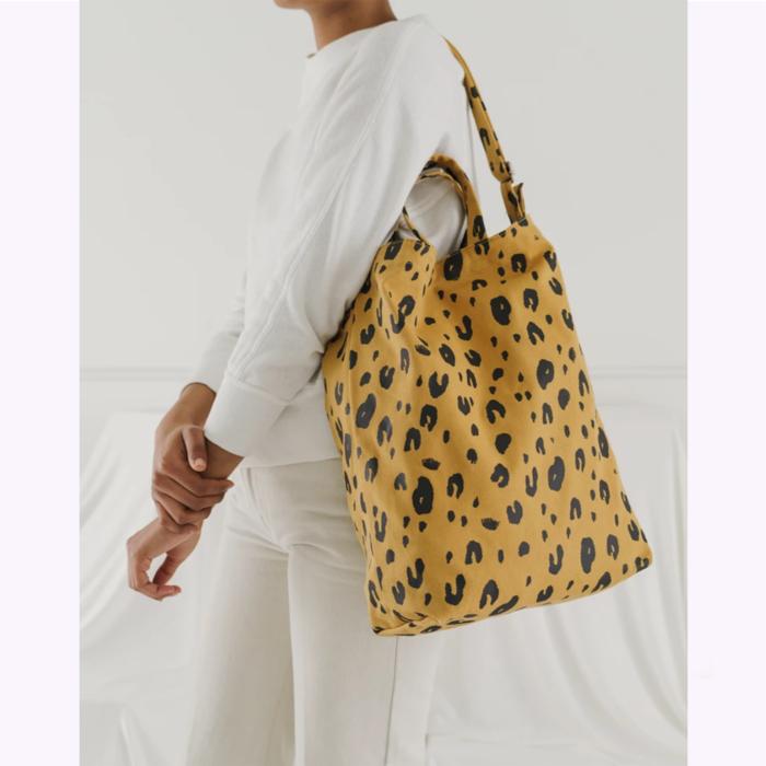 Baggu sac à main Baggu Leopard Duck Bag