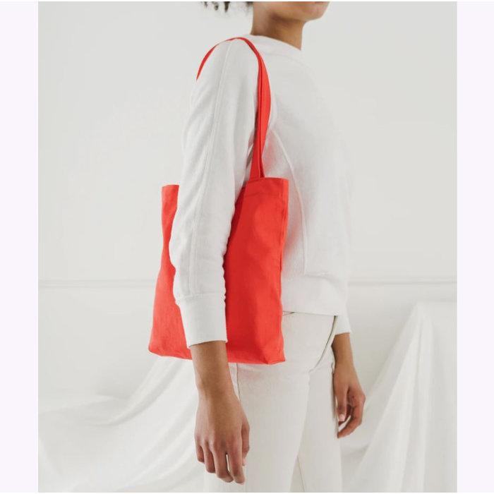 Petit sac fourre-tout en toile Baggu Warm Red