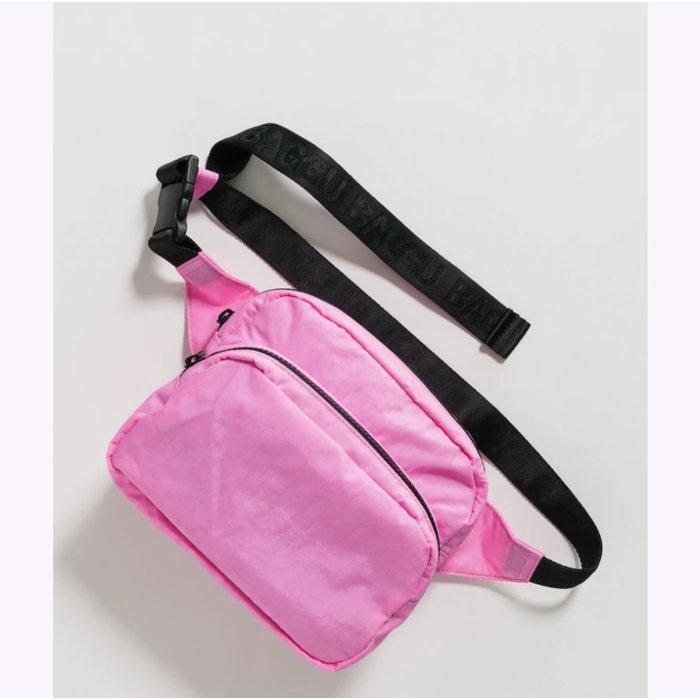 Baggu Bright Pink Fanny Pack
