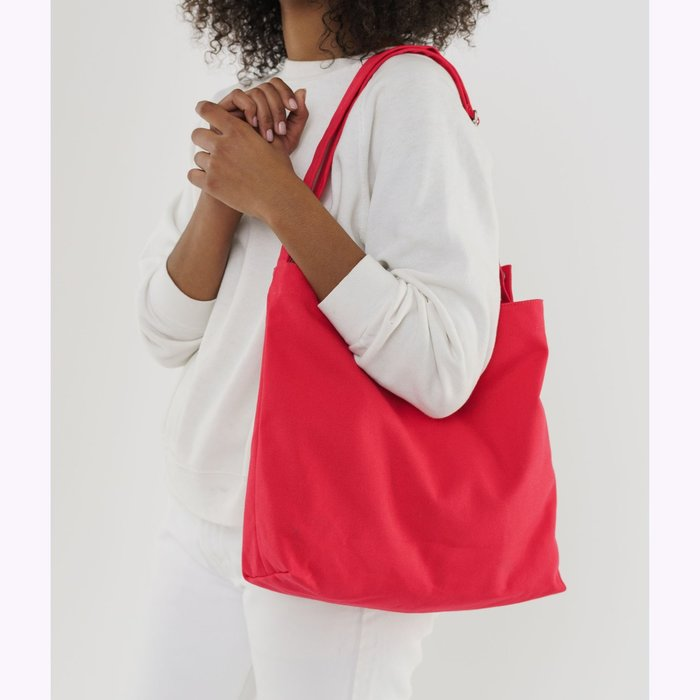 Baggu sac à main Baggu Punch Red Horizontal Duck Bag