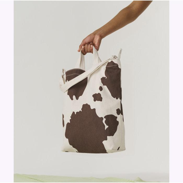 Baggu Brown Cow Duck Bag