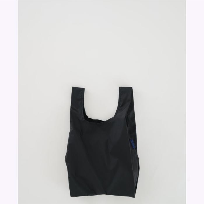 Baggu sac réutilisable Petit sac réutilisable Baggu Noir