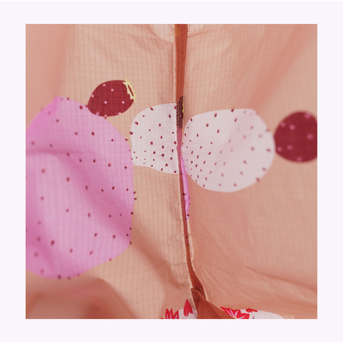 Baggu Pink Cactus Flower Reusable Bag