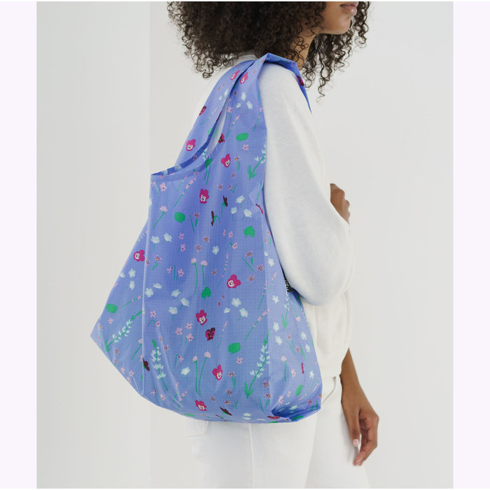 Baggu Blue Wildflowers Reusable Bag
