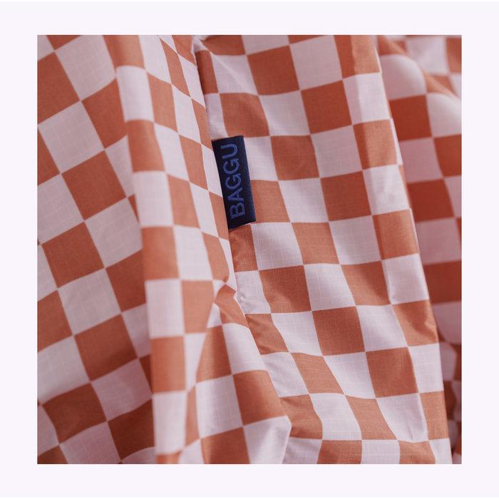 Baggu Rose Checkerboard Reusable Bag