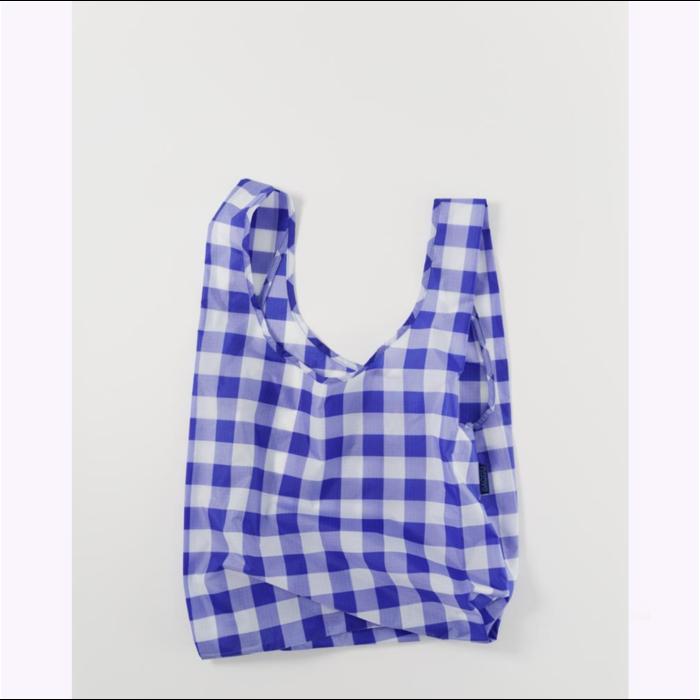 Baggu Checked Blue Reusable Bag