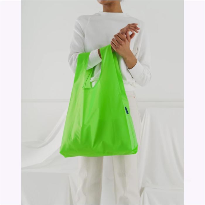 Sac réutilisable Baggu Vert fluo