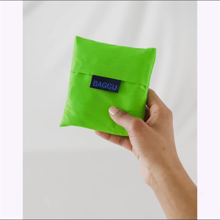 Baggu Neon Green Reusable Bag