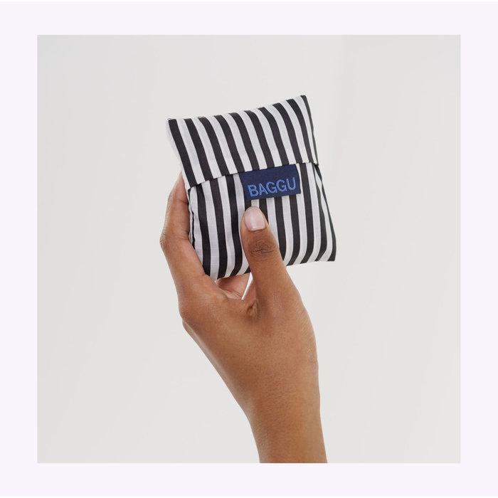Baby Baggu Black & White Stripes Reusable Bag
