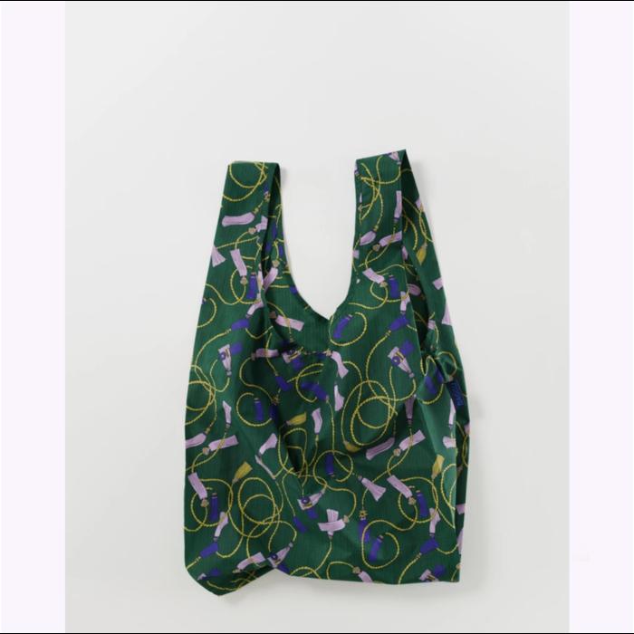 Baggu Green Tassel Reusable Bag