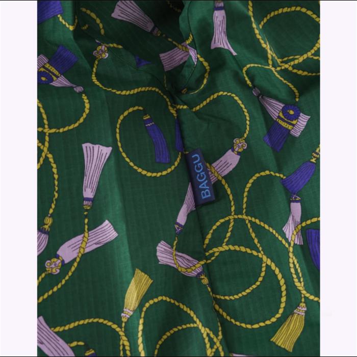 Sac réutilisable Baggu Pompons verts