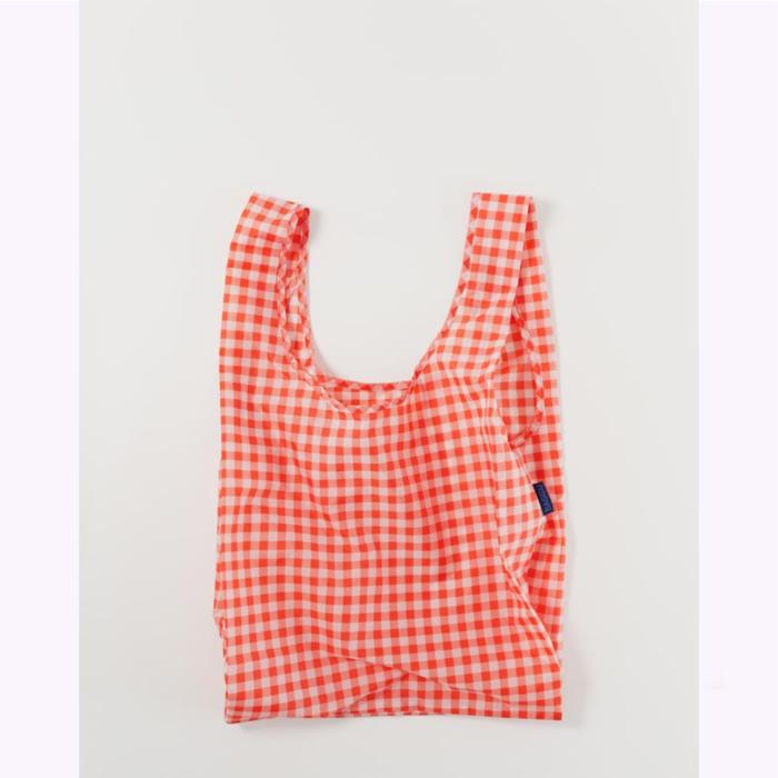 Baggu sac réutilisable Baggu Red Gingham Reusable Bag