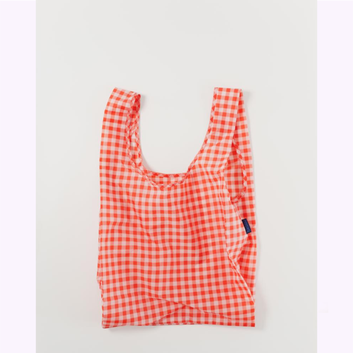 Baggu sac réutilisable Sac réutilisable Baggu Gingham Rouge