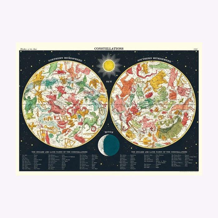 Cavallini Cavallini Constellations 2 Poster
