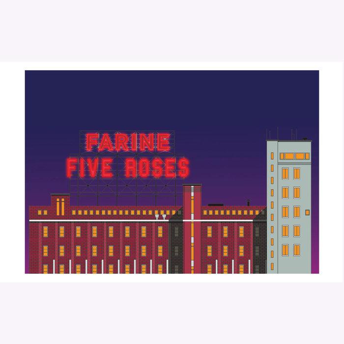 Hello LA Hello LA Farine Five Roses Print