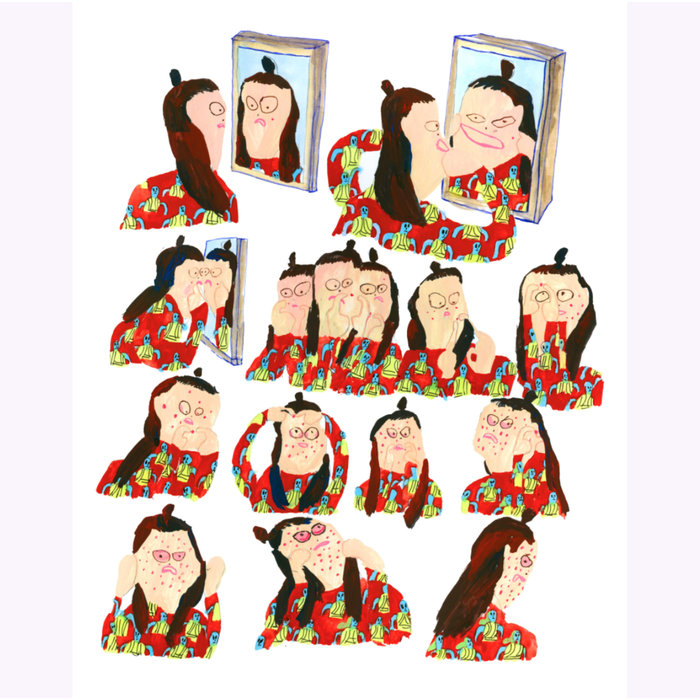Tara Booth Pimple Popper Print