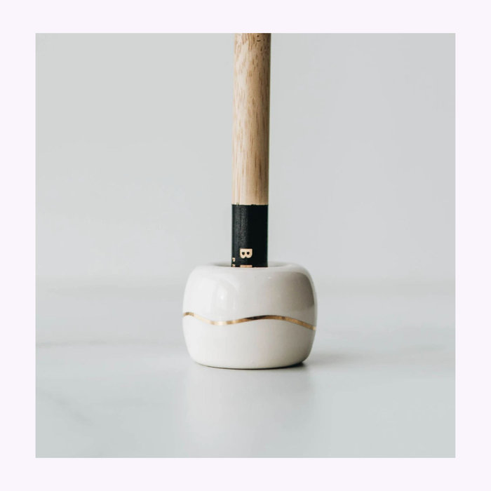 Bkind Bkind Beige Toothbrush Holder