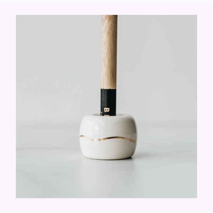 Bkind Beige Toothbrush Holder