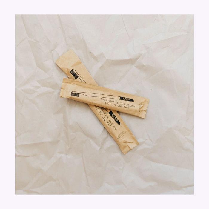 Bkind Brosse à dents pour enfant Bkind en bambou