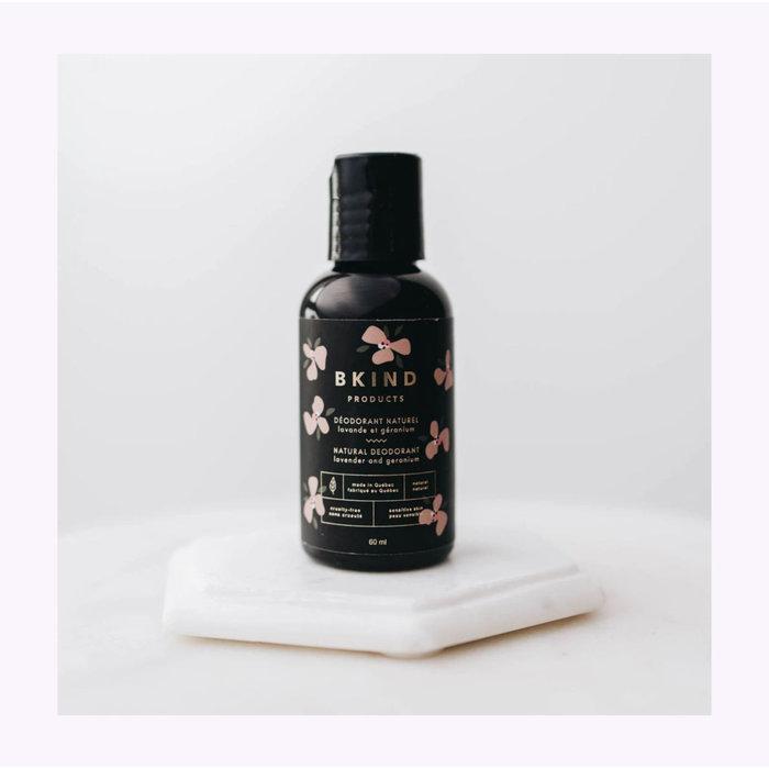 Bkind Lavender and Geranium Deodorant
