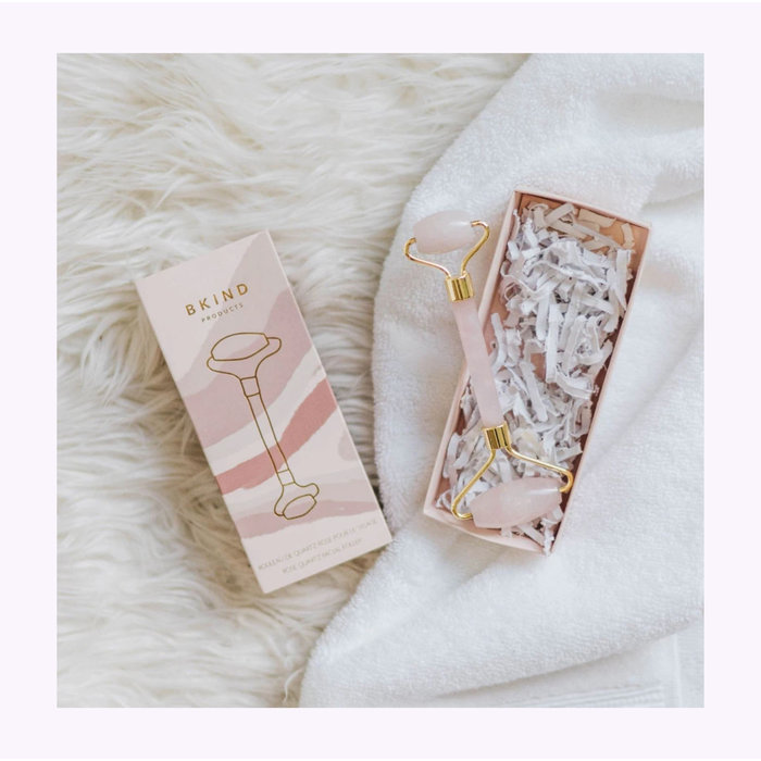 Bkind Rose Quartz Face Roller