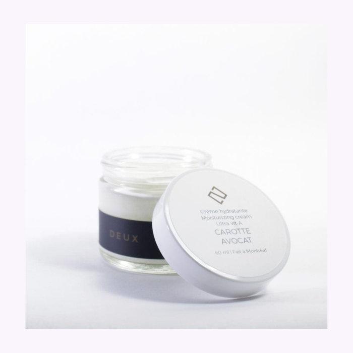 Deux cosmétique Crème hydratante Deux Cosmétiques Vit-A - Carotte et avocat